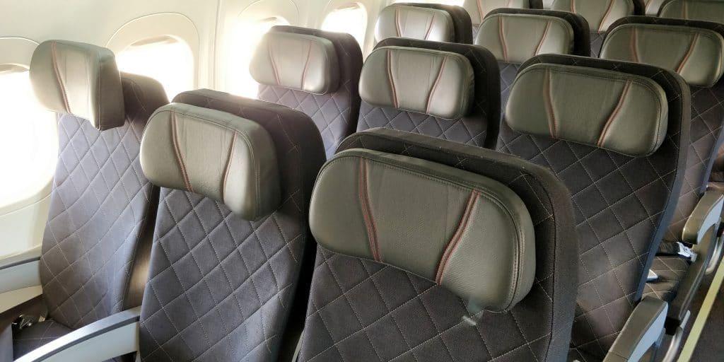 Qantas Link Economy Class Sitz 2