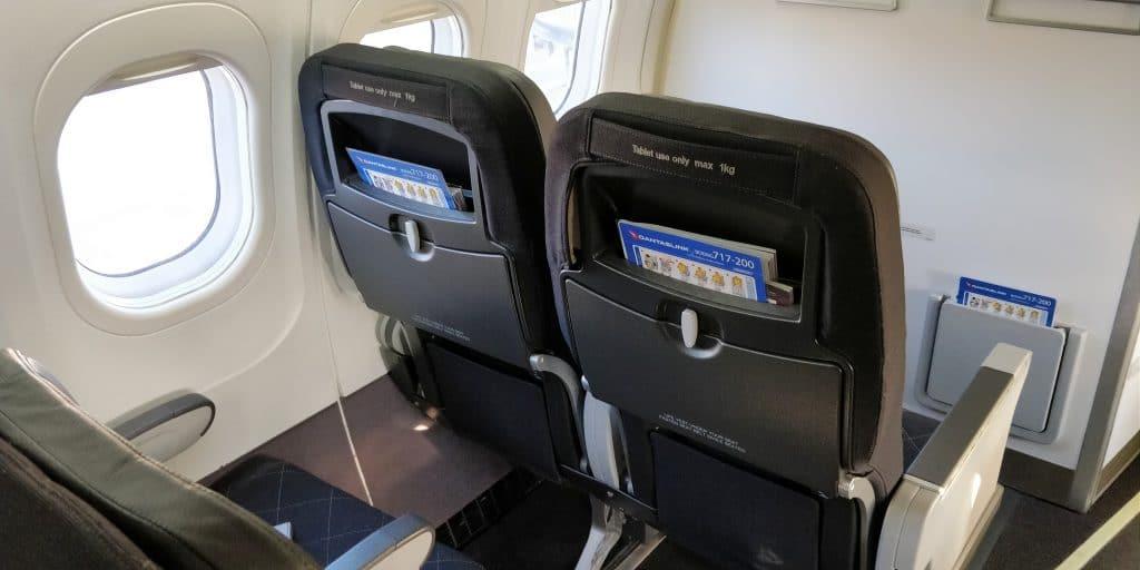Qantas Link Economy Class Sitz 4