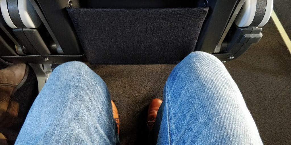 Qantas Link Economy Class Sitzabstand