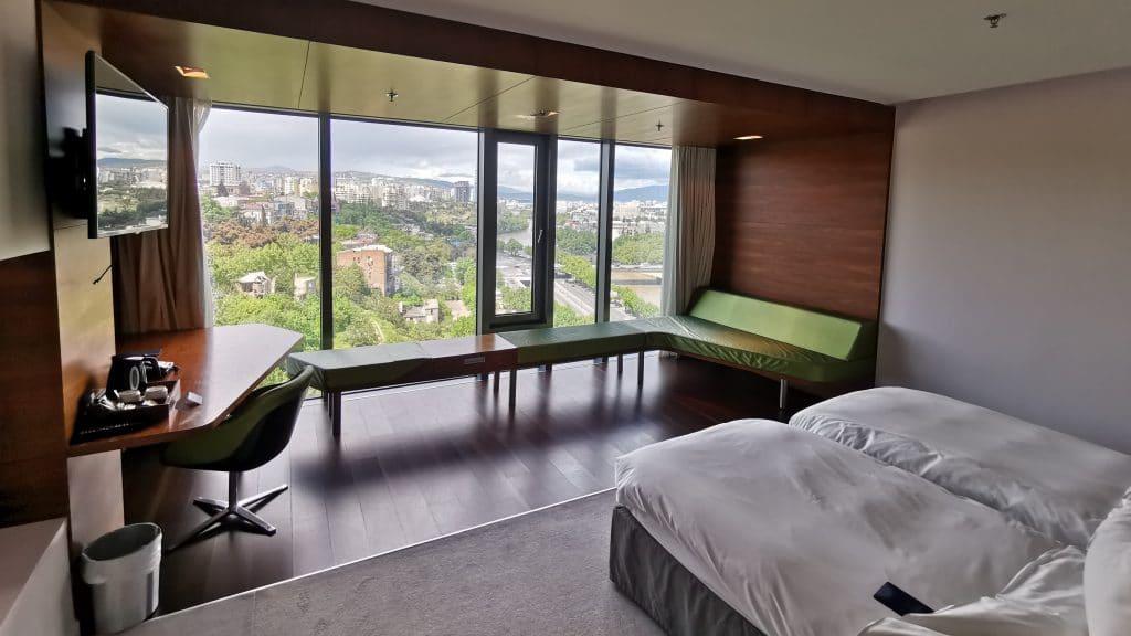Radisson Blu Iveria Hotel Ausblick Zimmer