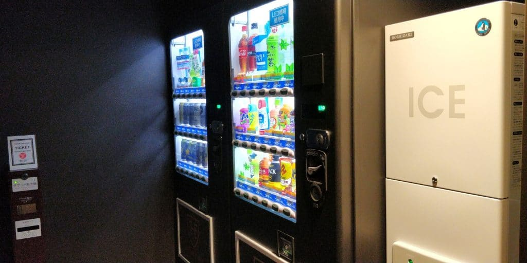 Royal Park Hotel Tokio Haneda Getränkeautomat