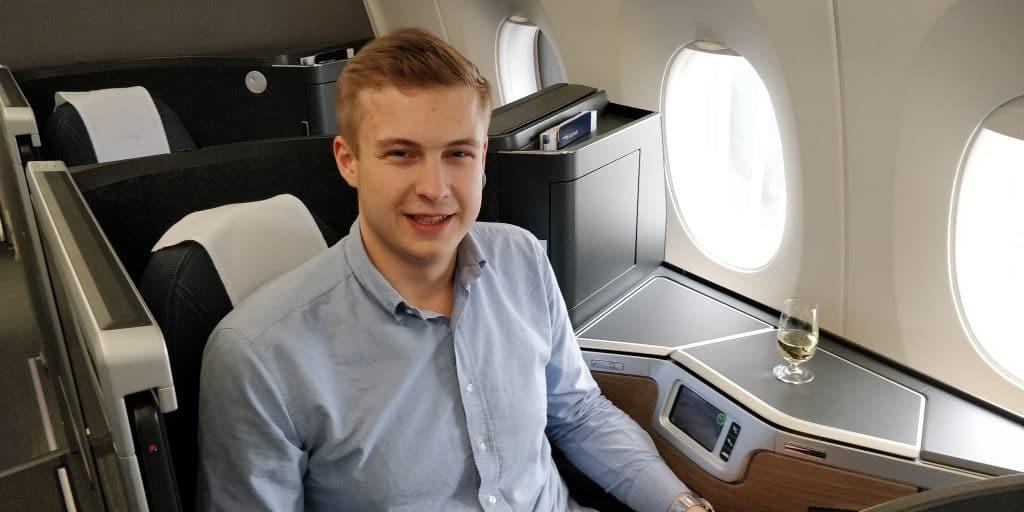 Severin Gerstenkorn British Airways Club Suite