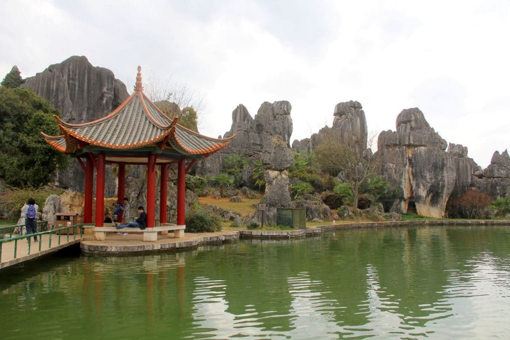 Shilin Stone Forest Kunming 38