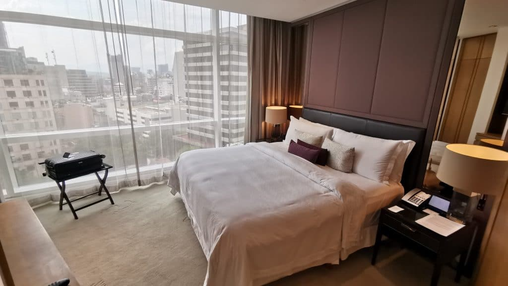St. Regis Mexico City Executive Suite Schlafzimmer