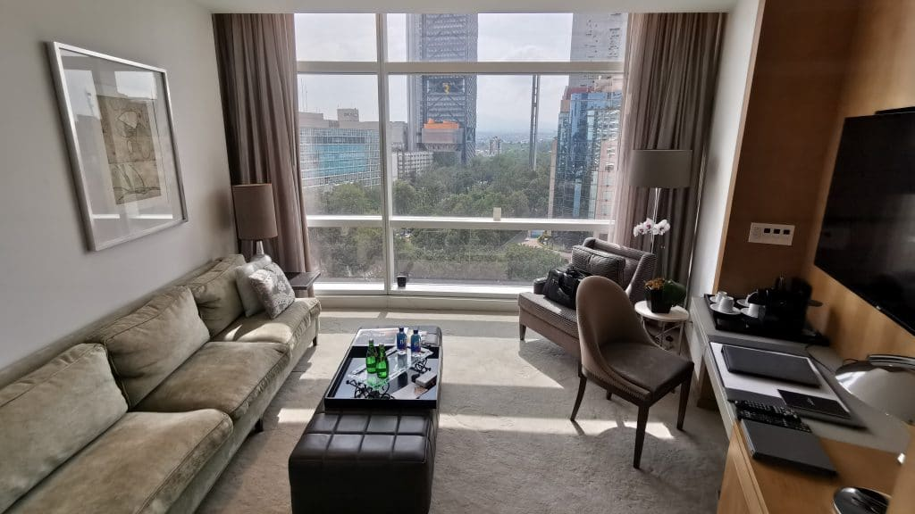 St. Regis Mexico City Executive Suite Wohnzimmer