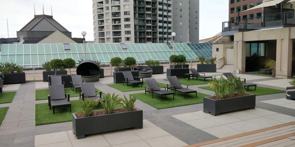 The Langham Melbourne Terrasse