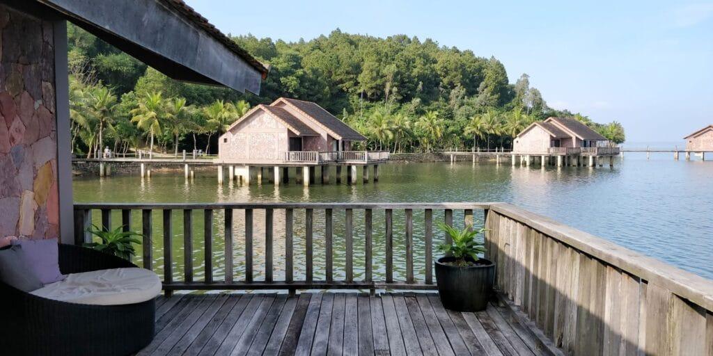 Vedana Lagoon Resort Villa Balkon 2