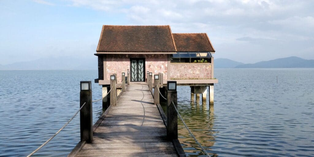 Vedana Lagoon Resort Villa Eingang 2
