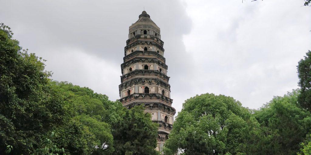 Yunyan Temple Pagoda Suzhou 5