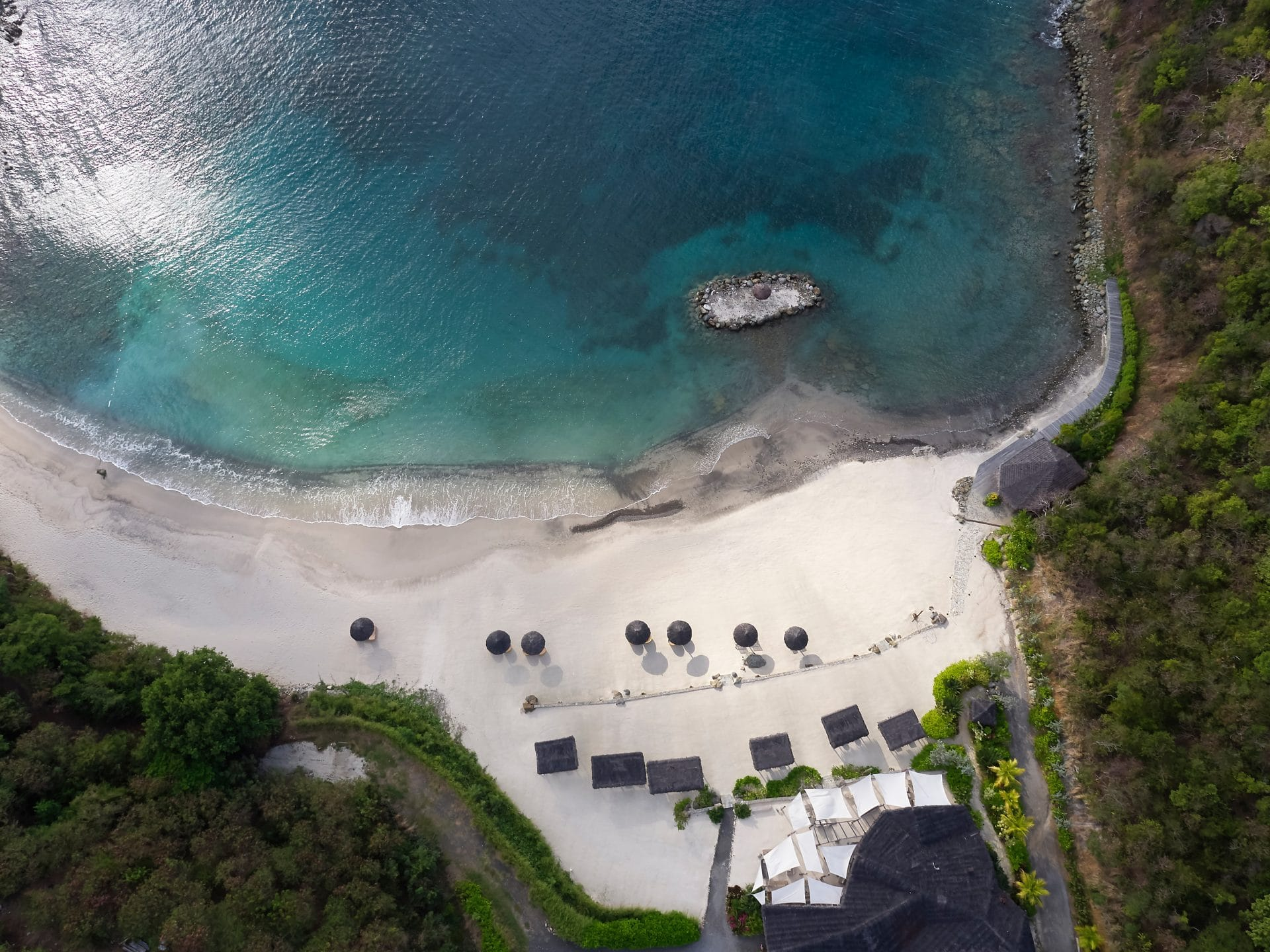 Canouan Hotel Lance Aerial 02