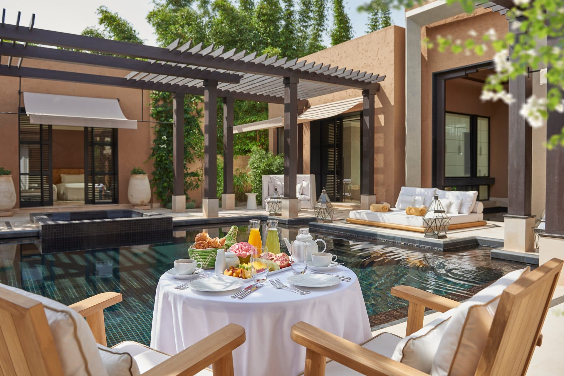 Marrakech Villa Breakfast