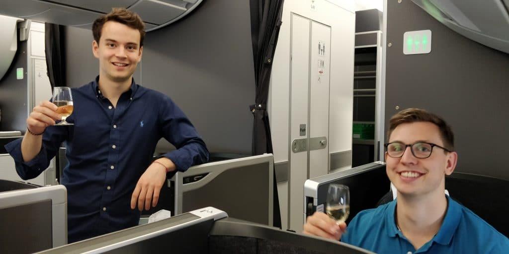 Reisetopia British Airways Club Suite