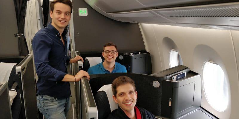 Reisetopia British Airways Club Suite 2
