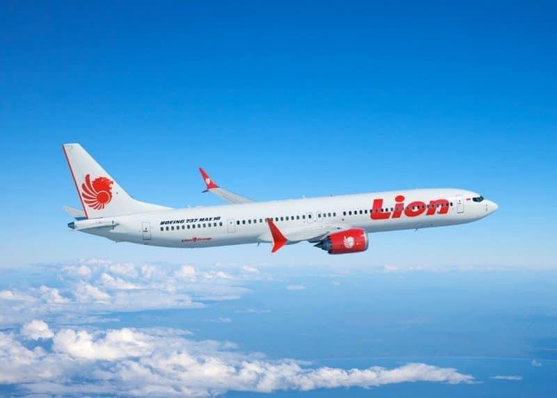 Lion Air Boeing 737 MAX 10