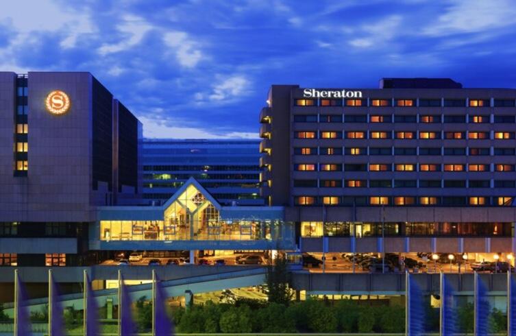 Sheraton Frankfurt Airport Hotel Außenansicht