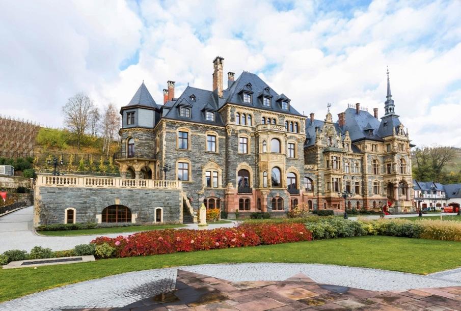 Schloss Lieser Außenansicht