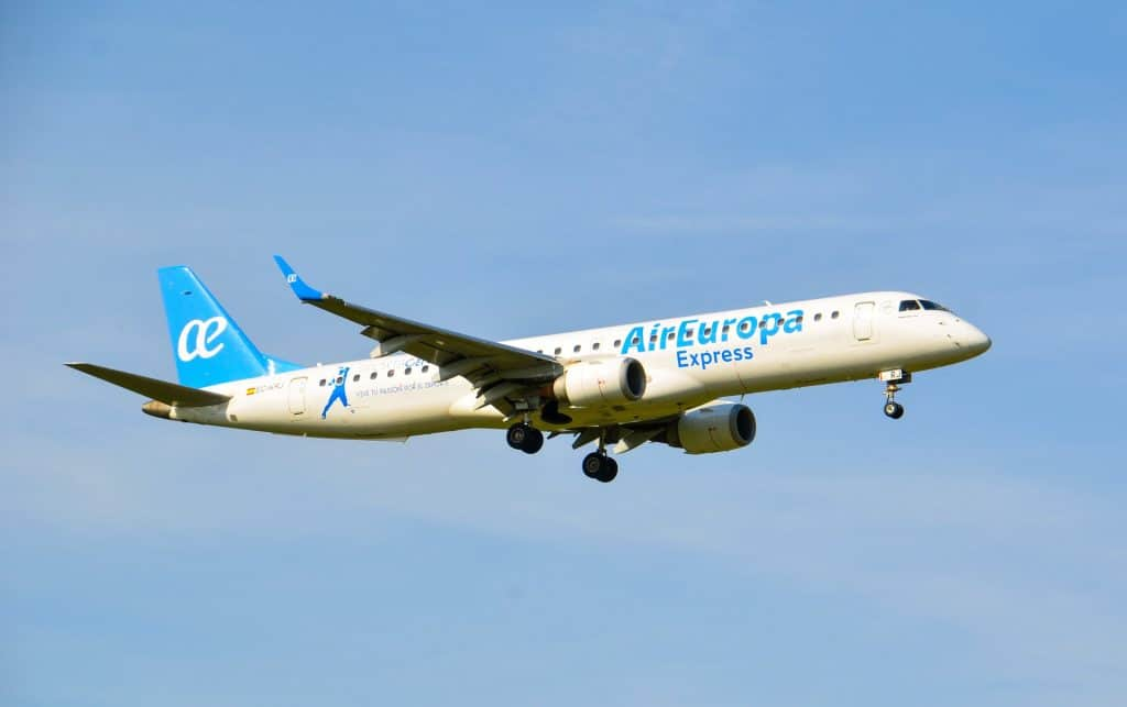Air Europa Embraer Jet