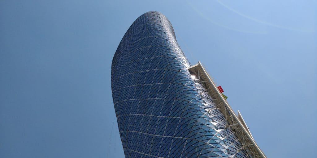 Andaz Capital Gate Abu Dhabi Gebäude