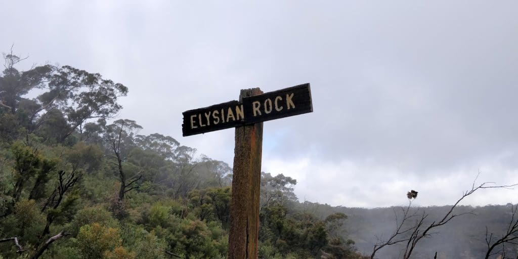 Blue Mountains National Park Elysian Rock Lookout 2