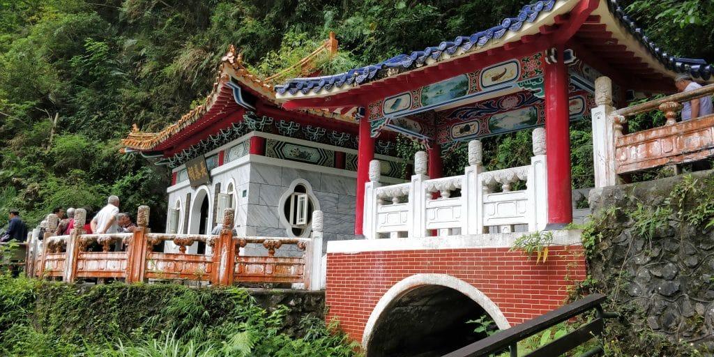 Changchun Schrein Taroko Schlucht Taiwan 2