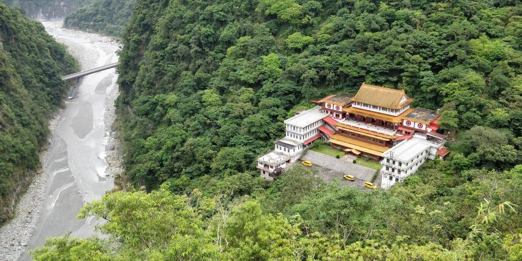 Changhuang Tempel Taroko Schlucht Taiwan 2