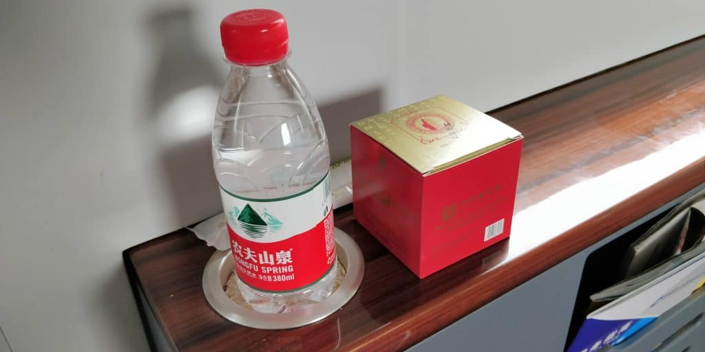 China Schnellzug Business Class Catering