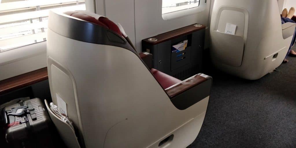 China Schnellzug Business Class Sitz