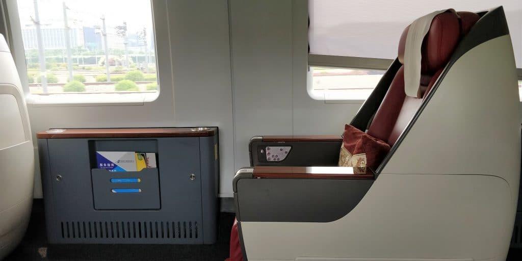 China Schnellzug Business Class Sitz 4