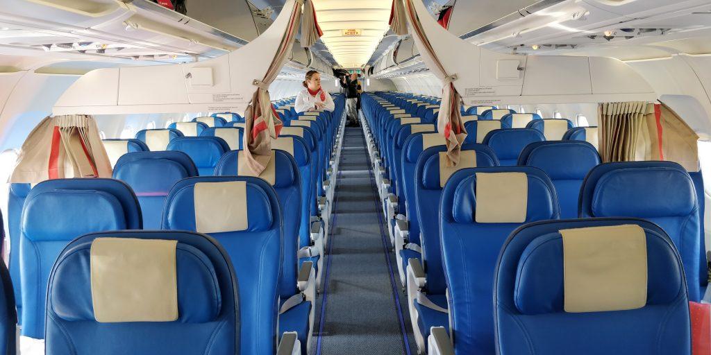 Edelweiss Air Kabine