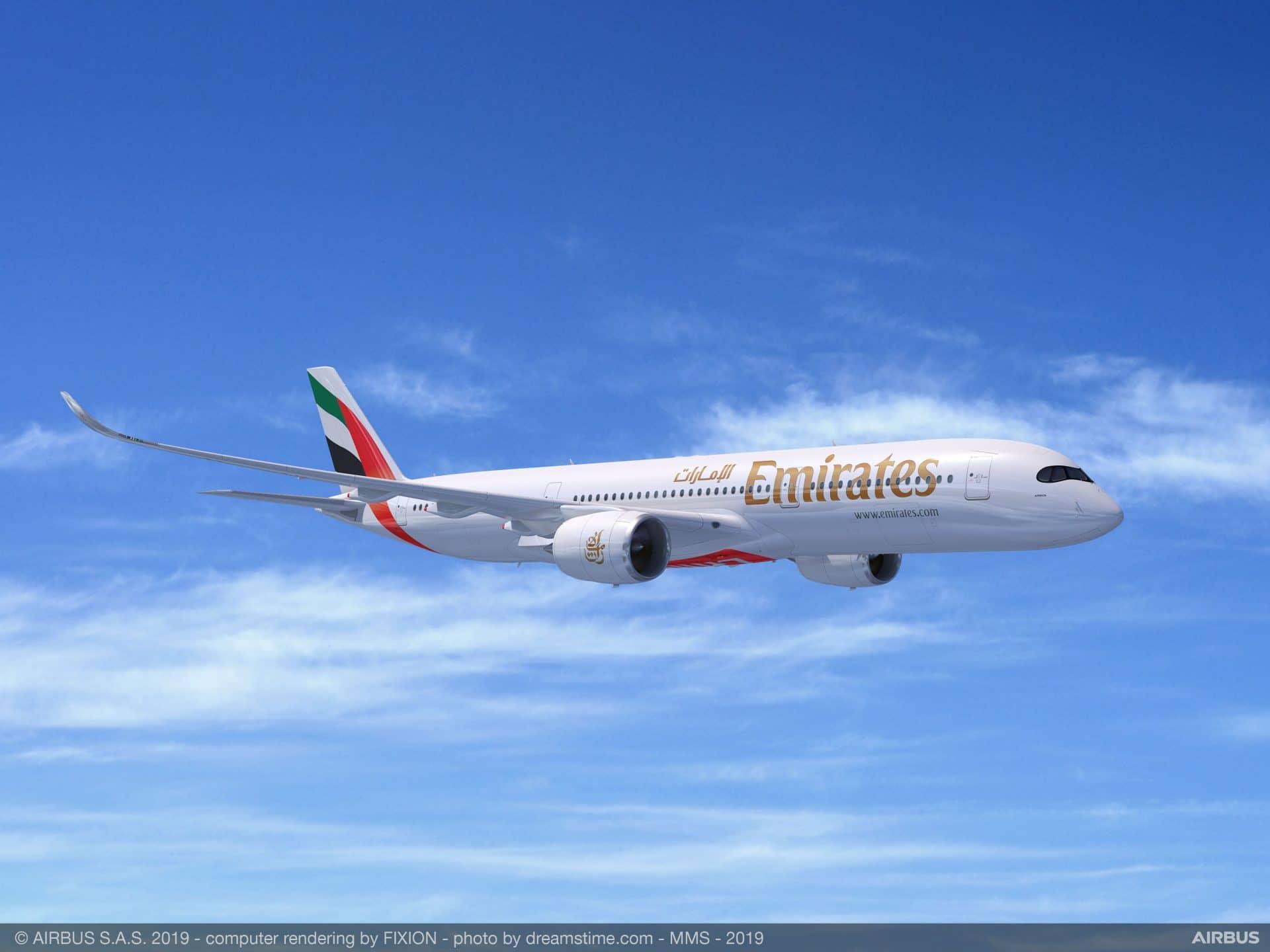 Emirates A350 900