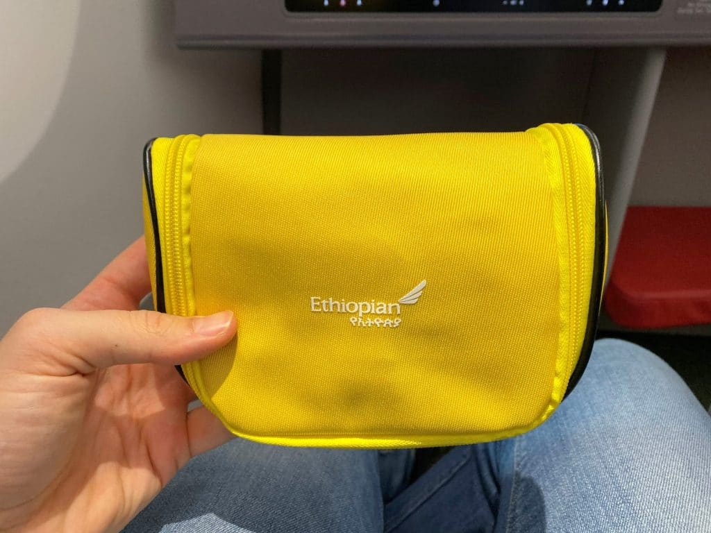 Ethiopian Airlines Business Class Airbus A350 Amenity Kit