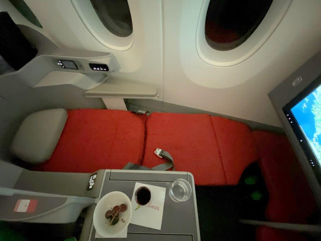 Ethiopian Airlines Business Class Airbus A350 Bett