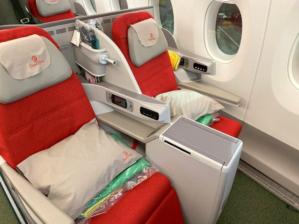 Ethiopian Airlines Business Class Airbus A350 Sitz