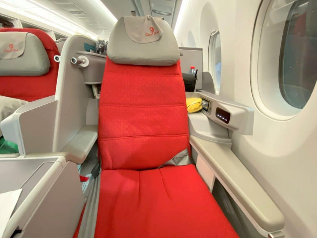 Ethiopian Airlines Business Class Airbus A350 Sitz 2