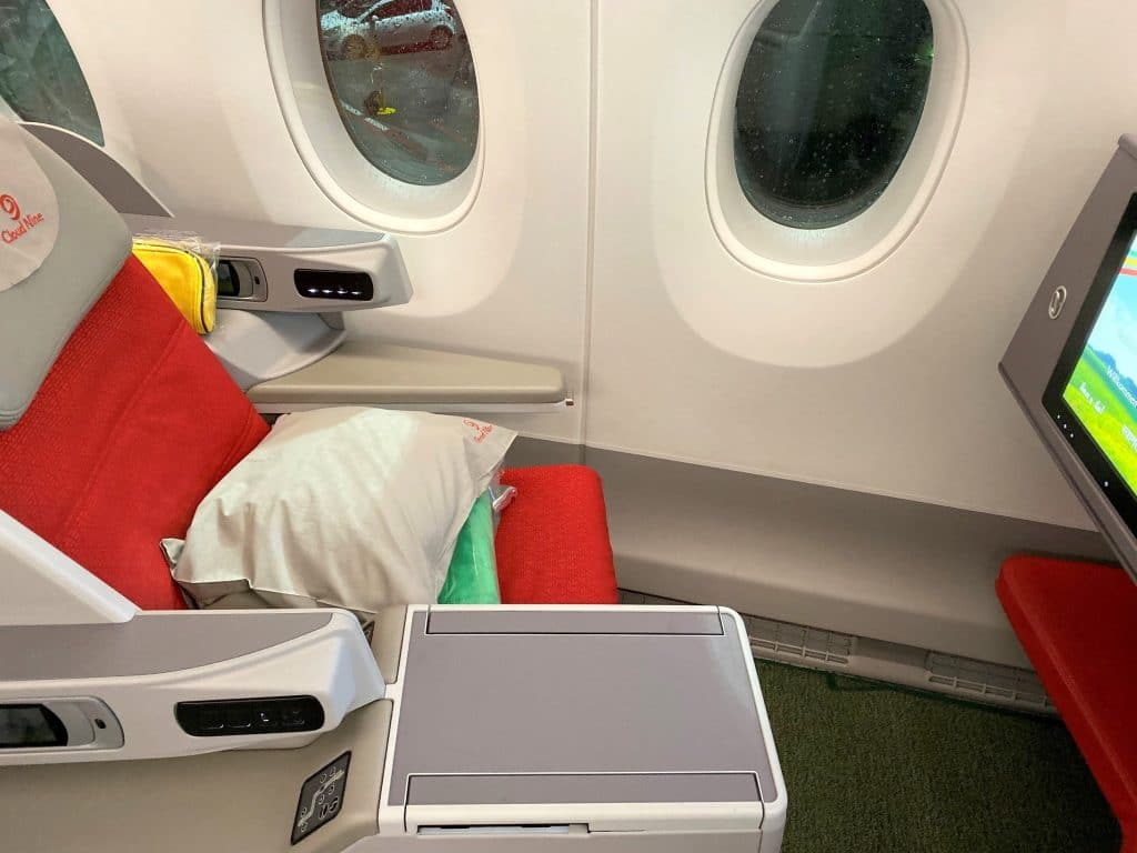 Ethiopian Airlines Business Class Airbus A350 Sitz 3