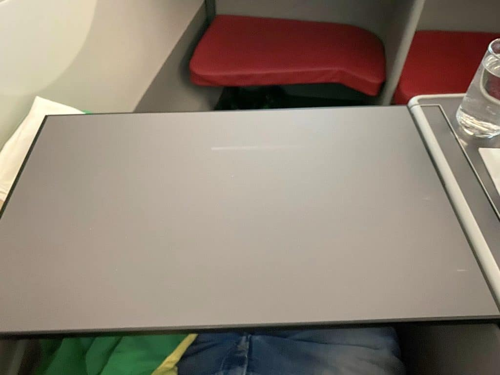 Ethiopian Airlines Business Class Airbus A350 Tisch