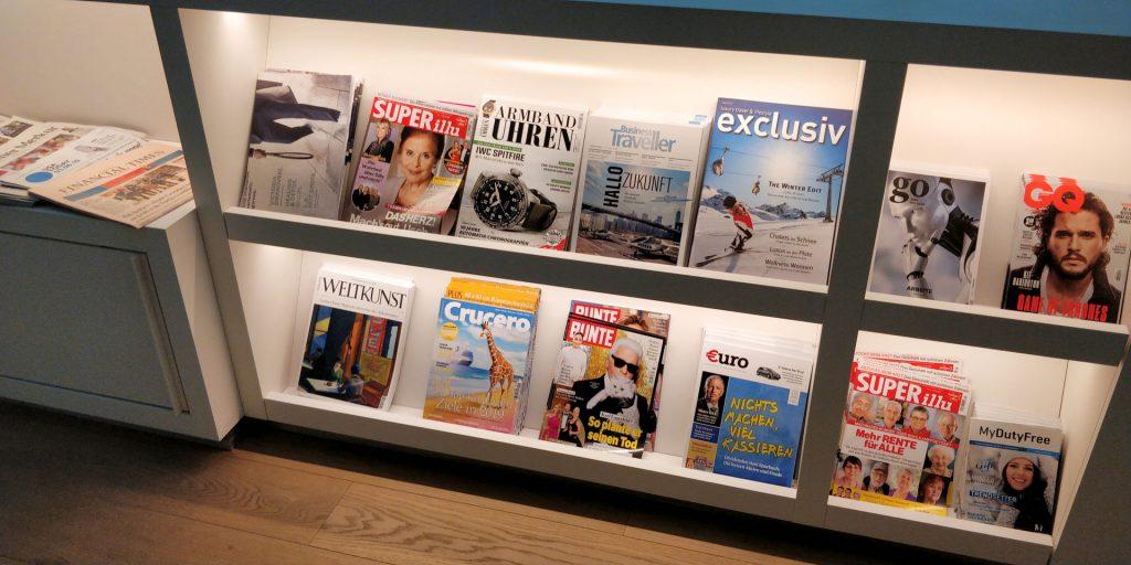 Europa Lounge München Magazine