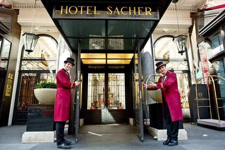 Hotel Sacher Wien Eingang