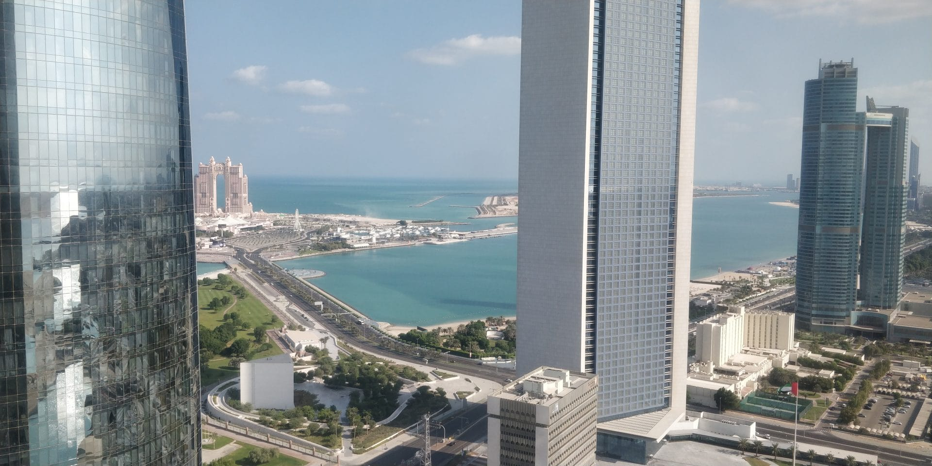 Jumeirah At Etihad Towers Abu Dhabi Ausblick