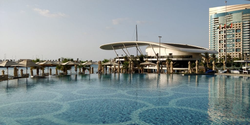 Jumeirah At Etihad Towers Abu Dhabi Pool