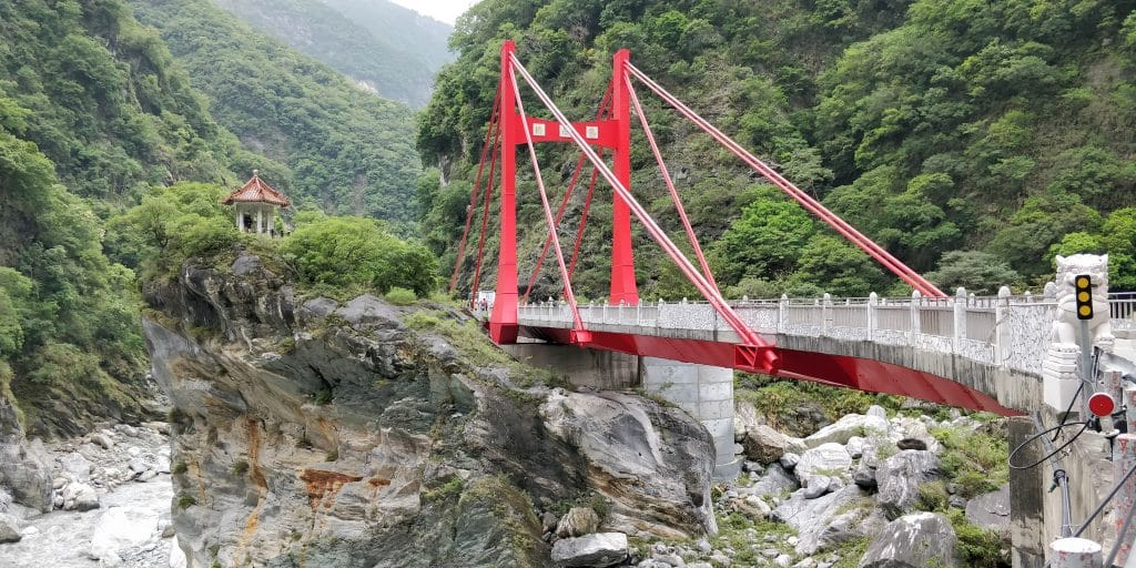 Lushui Trail Taroko Schlucht Taiwan 3