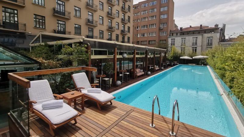 Park Hyatt Istanbul Poolbereich