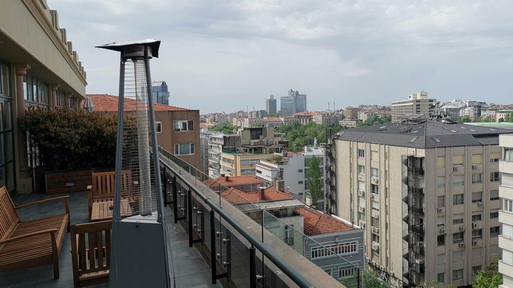 Park Hyatt Istanbul Terrasse