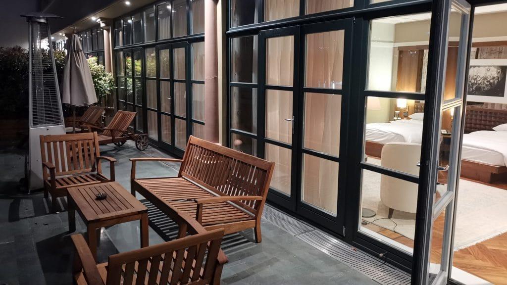 Park Hyatt Istanbul Terrasse Suite