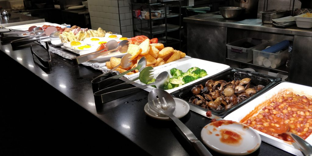 Parmelia Hilton Perth Frühstück
