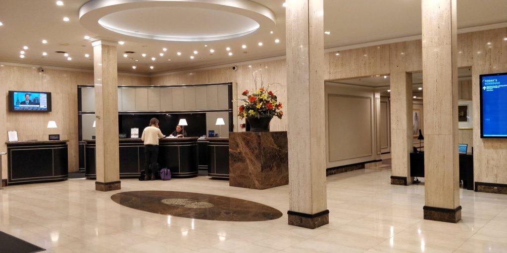 Parmelia Hilton Perth Lobby