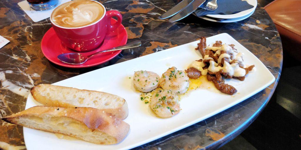 Parmelia Hilton Perth Snack