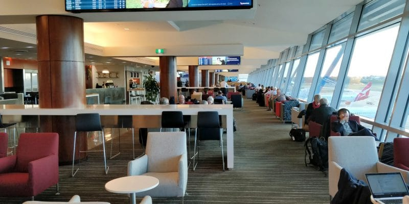 Qantas Club Sydney 4