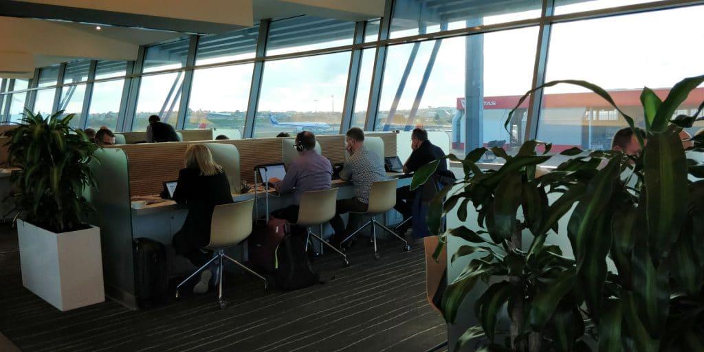 Qantas Club Sydney 5