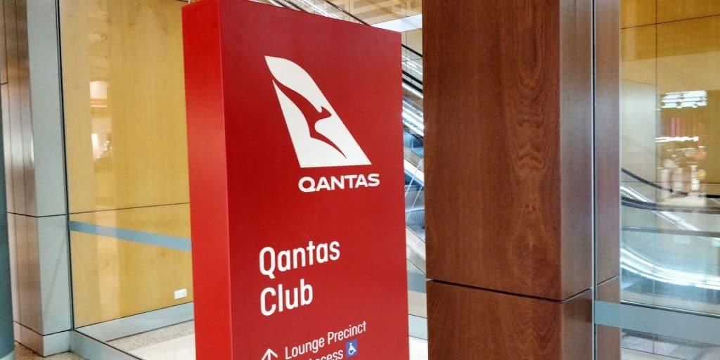 Qantas Club Sydney Eingang